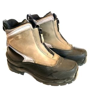 Lands End ladies 8.5 heavy rubber bottom boots